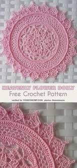 Thread Crochet Patterns Cool Exquisite Flower Doily Free Crochet Pattern In Aunt Lydia's Crochet