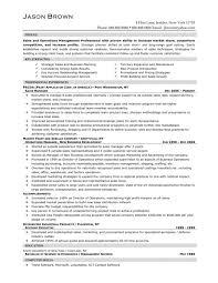 Marketing Resume Format Executive Sample Samples Mid Lev Peppapp