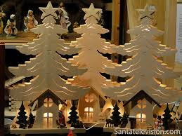 Wooden Christmas decorations in Seiffen in Germany