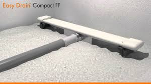 Linear Shower Drain Installation Easy Drain Compact Ff English