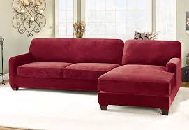 sectional covers. Photo Of Stretch Pique Two Seat With Chaise Sectional Covers V