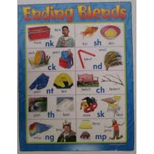 Ending Blends Chart