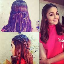 Alia Bhatt Hairstyle 10 shaandaar alia bhatt hairstyles you can try with your daily 3072 by stevesalt.us