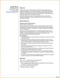 Mesmerizing Pharmacist Resume Cover Letter Tomyumtumweb Com