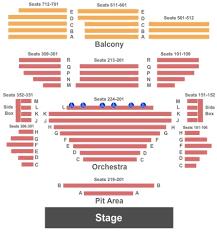 Allen Elizabethan Theatre Seating Chart Allen Theatre Tickets In Cleveland Ohio Allen Theatre