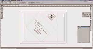 05 Envelope InDesign
