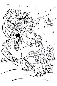 Small Picture Mickey Mouse Christmas Coloring Pages Free Coloring Pages