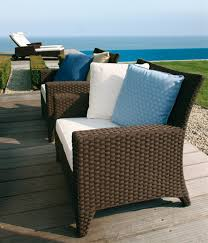 elegant outdoor furniture. elegant and durable woven fibres sofas for outdoor furniture design ideas by frank boschman kris