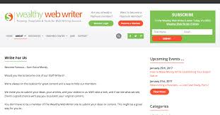 101 websites that pay you to write 2017 edition would you like to write about lance writing submit a pitch to wealthywebwriters and you can get paid for your knowledge and promote yourself as an