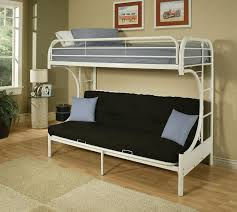 Image of Metal Bunk Beds with Desk