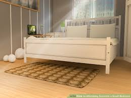 image titled decorate small. Image Titled Affordably Decorate A Small Bedroom Step 9 S