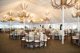 dazzling shabby chic lighting chandelier white reception tent with branch chandeliers elizabeth anne designs the wedding blog