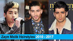 Zayn malik hairstyle 2010 2017