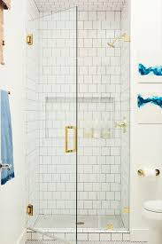 white tile flooring. Contemporary Bathroom With Clean White Tile Shower Flooring