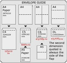 Paper Sizes Chart Us Lovely Recycled Stationery Menu Paper