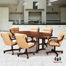 douglas cal living ashley 5 pc caster dining set