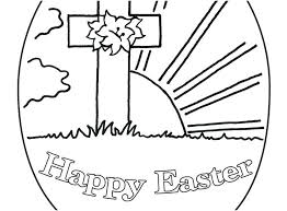 Free Easter Coloring Pages For Preschoolers Religious Coloring