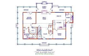 >glacier gulch log floor plan log cabin 2332 sq ft expedition  glacier gulch first floor