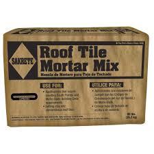 roof tile mortar