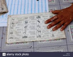 Astrology Signs For Lottery Luang Namtha Laos Stock Photo