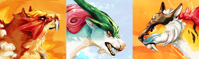 Gamestop exclusive shiny legendary dogs & toys r. Legendary Realistic Pokemon Wallpaper