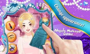 angels makeup kids game apk screenshot