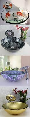stylish glass vessel sinks for your bathroom which one would you