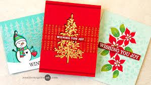 Tri Fold Window Tri Fold Window Card Designs Jennifer Mcguire Ink