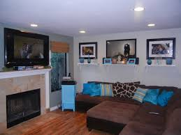 Turquoise And Brown Living Room Design Turquoise Brown Living Room Ideas Home Design Ideas