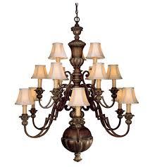 minka lavery belcaro 15 light chandelier in belcaro walnut 948 126 photo