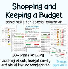 Keeping A Budget Worksheet Budget Worksheets Do You Have Enough Money Life Skill Math For Special Ed