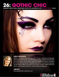 gothic chic cover makeup tutorial the plete step by step look is