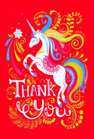 Free E Cards Thank You Unicorn Ecards Gifs Get The Best Gif On Giphy