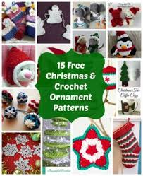 Crochet Christmas Ornaments Patterns Impressive Crochet Christmas Ornaments 48 FREE Festive Patterns Interweave