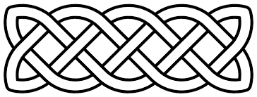 Celtic Pattern Impressive Calligraphy For Beginners Simple Celtic Knots