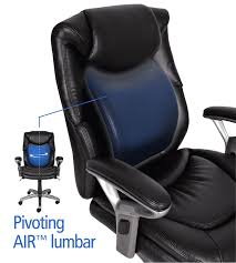 com serta air health and wellness mid back office chair black kitchen dining