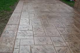 stamped concrete patterns for driveways decorative images wondrous paver small patio design ideas regarding backyard designs