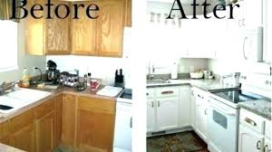 Cost To Refinish Kitchen Cabinets Awesome Refinishing Old Cabinets Restoring Old Kitchen Cabinets Painted And
