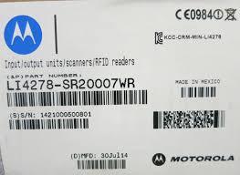 motorola li4278. motorola li4278 new cordless barcode scanner usb kit with cr0078 charging cradle li4278 u