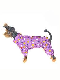 """<b>Комбинезон</b> для собак <b>Happy Puppy</b> """"<b>Конфетти</b>""""сиреневый ..."""