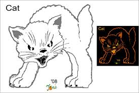 pumpkin carving patterns free 16 free pumpkin carving stencils of cats for a vintage halloween