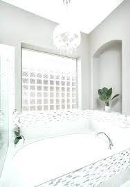 chandelier over bathtub astonishing white bathrooms bathroom with marble size chandelier over bathtub