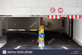 basement parking entrance. Contemporary Parking Entrance Ramp To Underground Parking Garage  Stock Image With Basement Parking