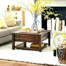 pier one coffee tables table custom 1 base outdoor