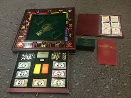 Wooden Monopoly Board Game MONOPOLY EDITION DU COLLECTIONNEUR collection on eBay 21