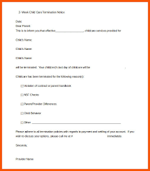 Two Weeks Notice Letter For Daycare 10 Daycare Resignation Letter Iwsp5
