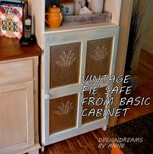 tin furniture. create a pie safe from basic cabinet kitchen cabinets design painted furniture tin
