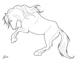Coloriages Cheval Les Animaux Page 3