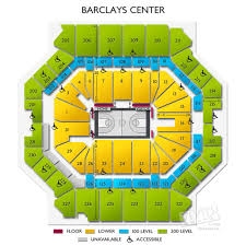 Acc Seating Chart Concert 3d Reasonable Barclays Center Concert Seating Chart With Seat