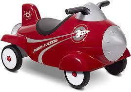 Amazon.com: Radio Flyer Retro Rocket Ride On: Toys & Games